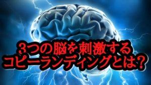 コピーライティングで3つの脳を刺激するテクニックとは?